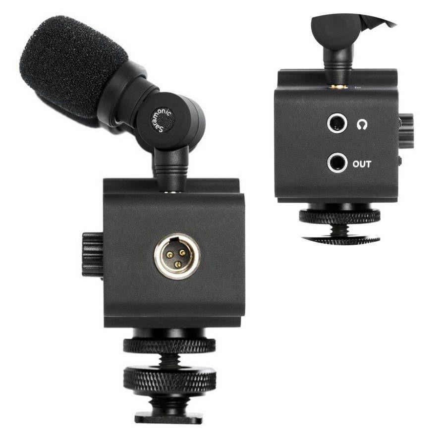 Kit de Microfone Saramonic CA-Mixer para Câmera DSLR