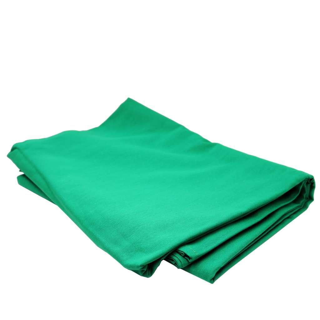 Kit de Suporte para Fundo Infinito SFI-222 + Fundo Infinito Muslin Verde Chroma Key 2m x 2,80m  - Fotolux