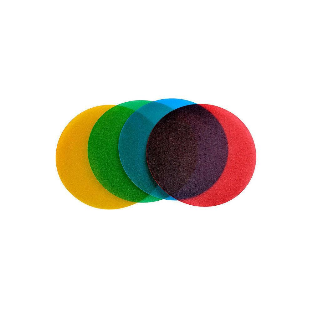 Kit Geleias Coloridas e Filtro Colmeia Godox Witstro AD-S11 para Flash AD-360