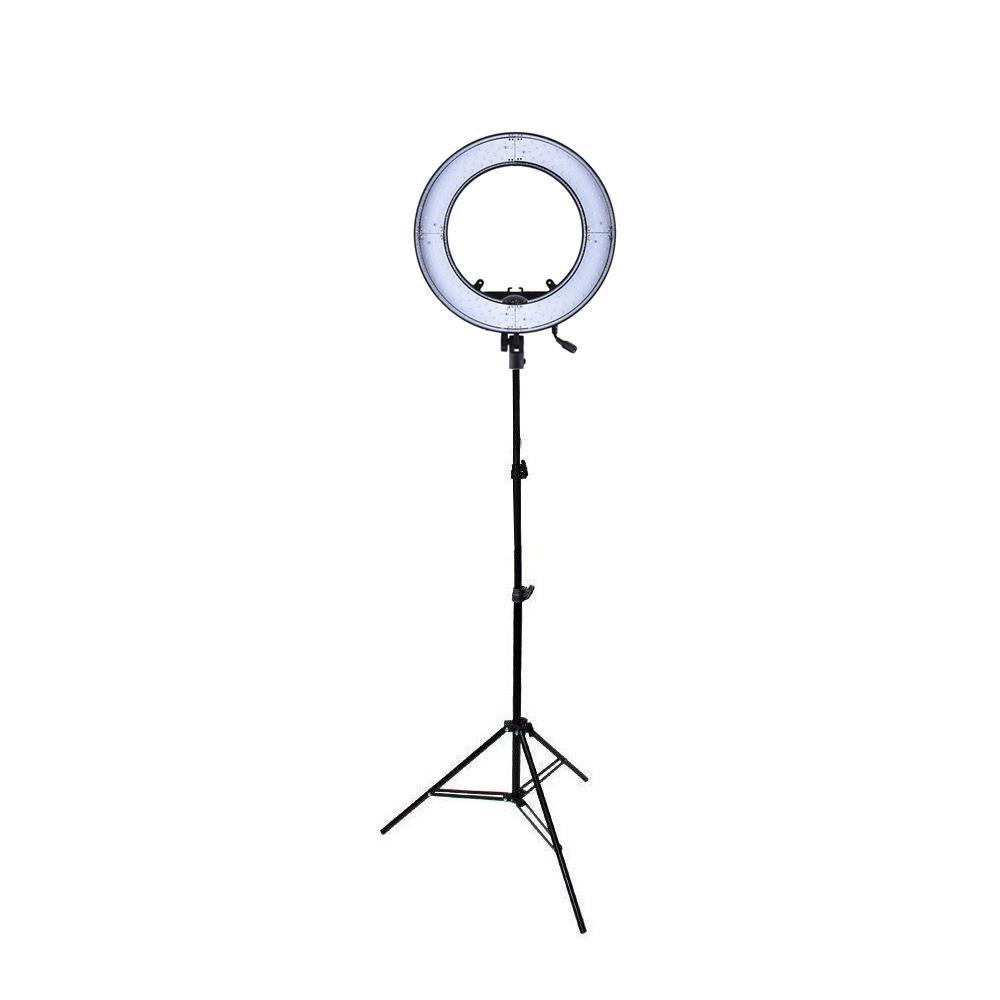 Kit Iluminador Ring Light de LED RL12 40w 35cm Diâmetro e Tripé 2m para Foto e Vídeo  - Fotolux