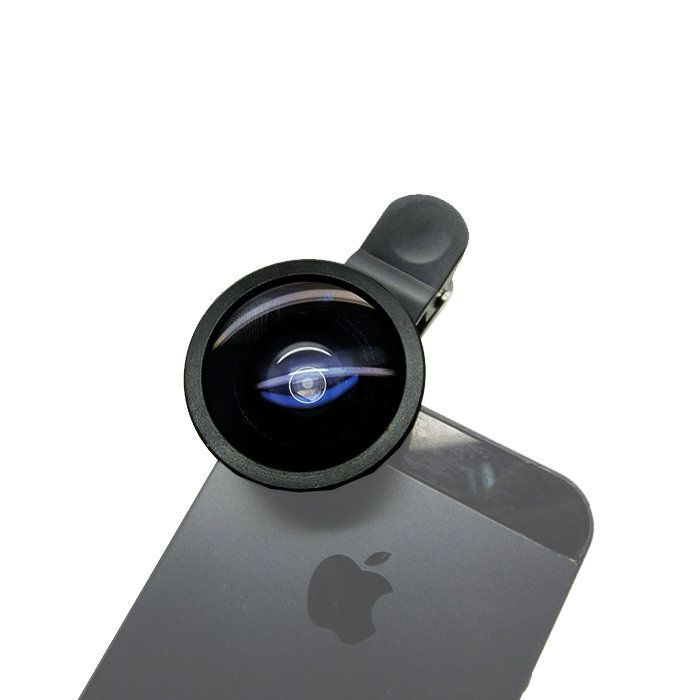 Lente Grande Angular Greika Super Wide 0.4x para Celular. Smartphone ou Tablet