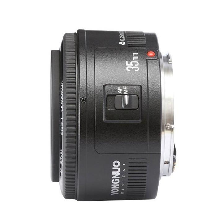 Lente Grande Angular Yongnuo YN35mm F2 para Canon