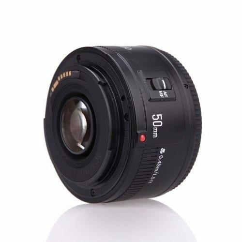 Lente Objetiva Yongnuo YN50mm F1.8 para Canon