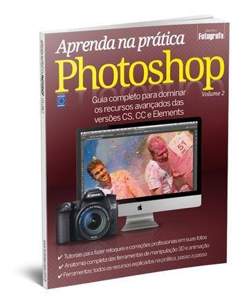 Livro Aprenda na Prática Photoshop Editora Europa - Volume 2