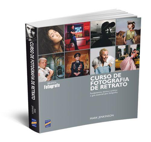 Livro Curso de Fotografia de Retrato Editora Europa