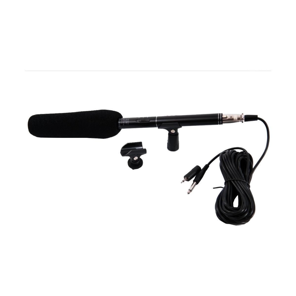 Microfone Condensador CSR HT-81 Super Unidirecional para Gravações