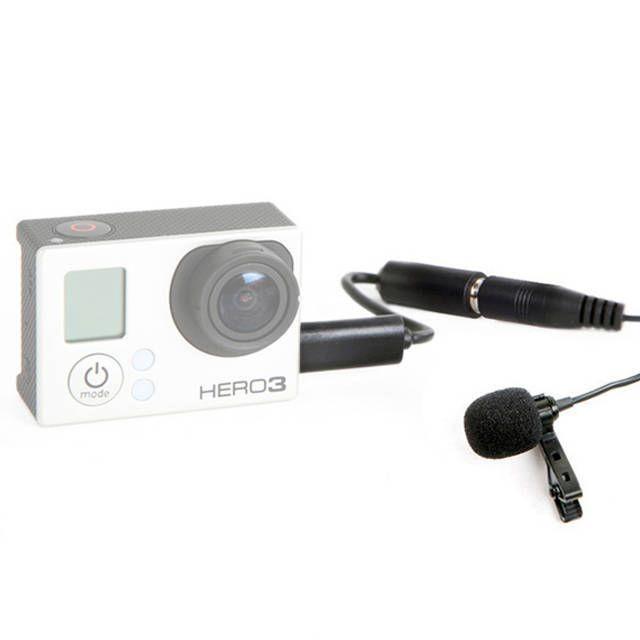 Microfone de Lapela Boya BY-LM20 para Câmeras DSLR e GoPro