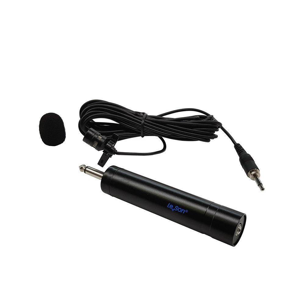 Microfone de Lapela Leson ML100S para Câmeras DSLR e Filmadoras   - Fotolux