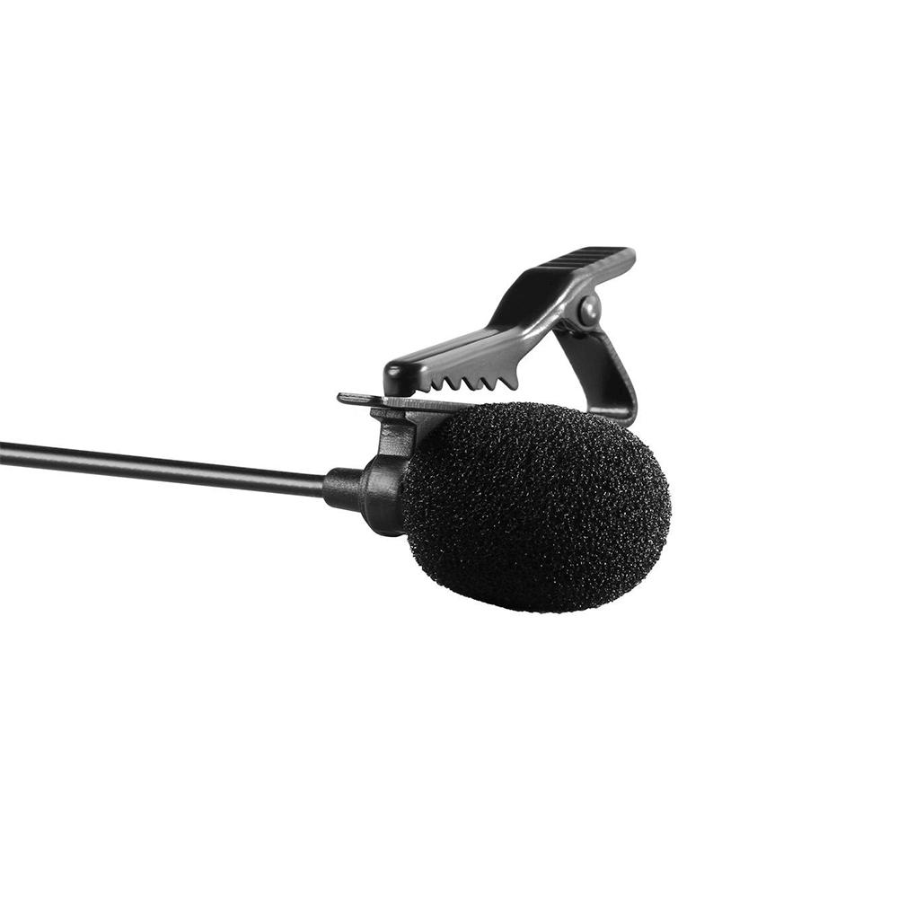 Microfone de Lapela para Celular Smartphone, Câmeras DSLR e Filmadora Boya BY-M1  - Fotolux