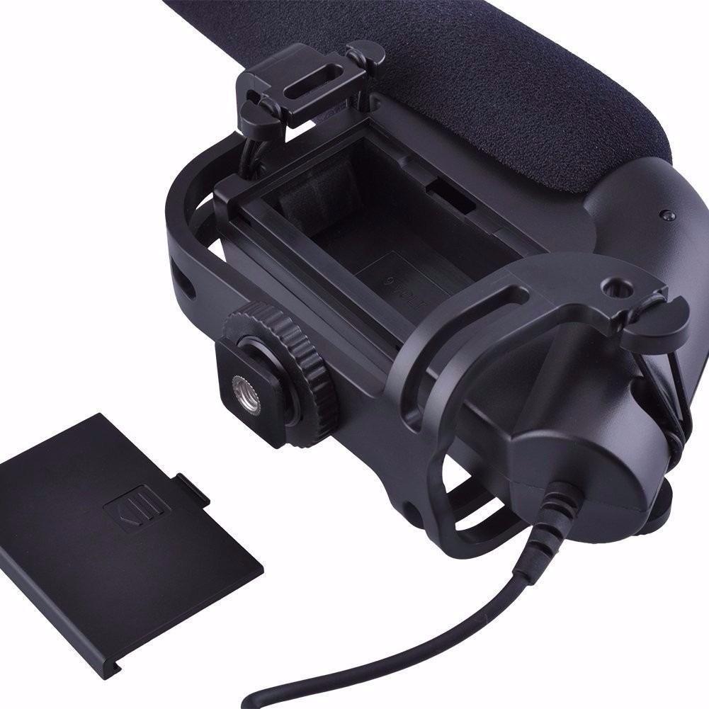 Microfone Direcional Boya By-vm190 para Câmera Dslr