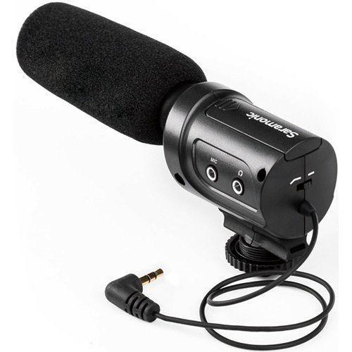 Microfone Direcional Condensador Saramonic SR-M3 para Câmeras DSLR