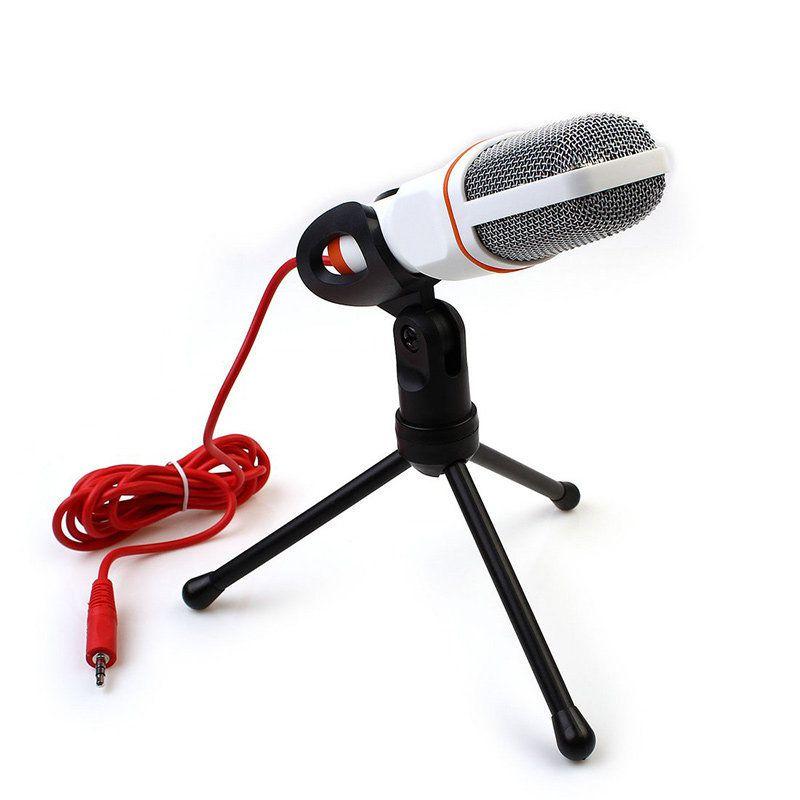 Microfone Direcional Condensador SF-666 para Câmera e Computador  - Fotolux