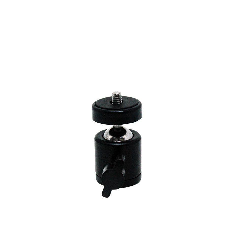 Mini Cabeça Ball Head Greika YA413 para Câmeras e Iluminadores