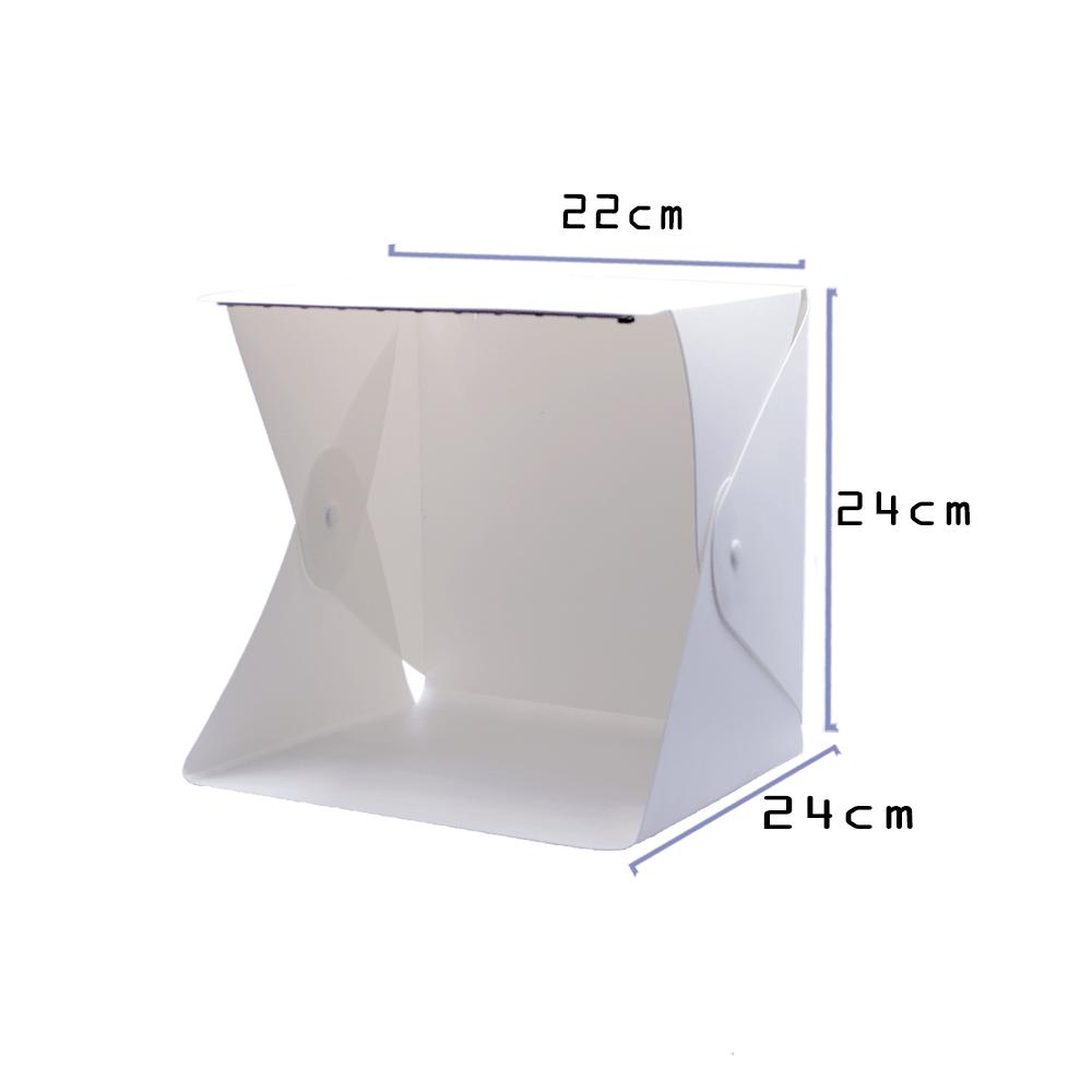Mini Estúdio Fotográfico para Foto de Produto com Fundo Preto e Branco MEF-001  - Fotolux