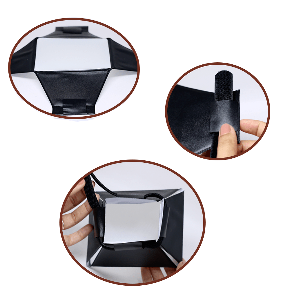 Mini Softbox Difusor para Flash Speedlite Sou Foto MSF-001  - Fotolux