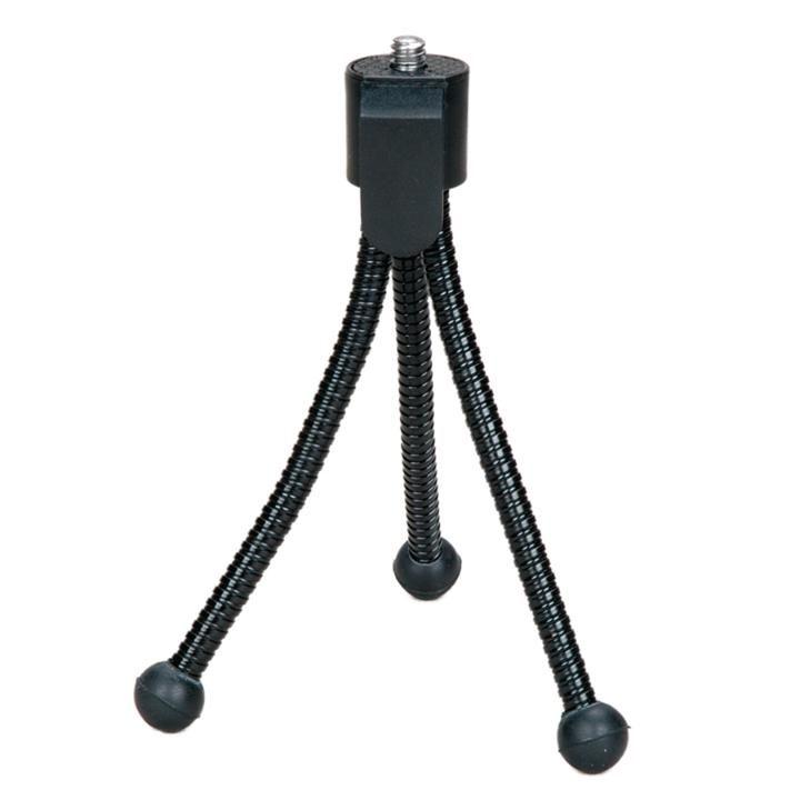 Mini Tripé 12cm Greika WT-0102 para Câmera e Web Cam  - Fotolux