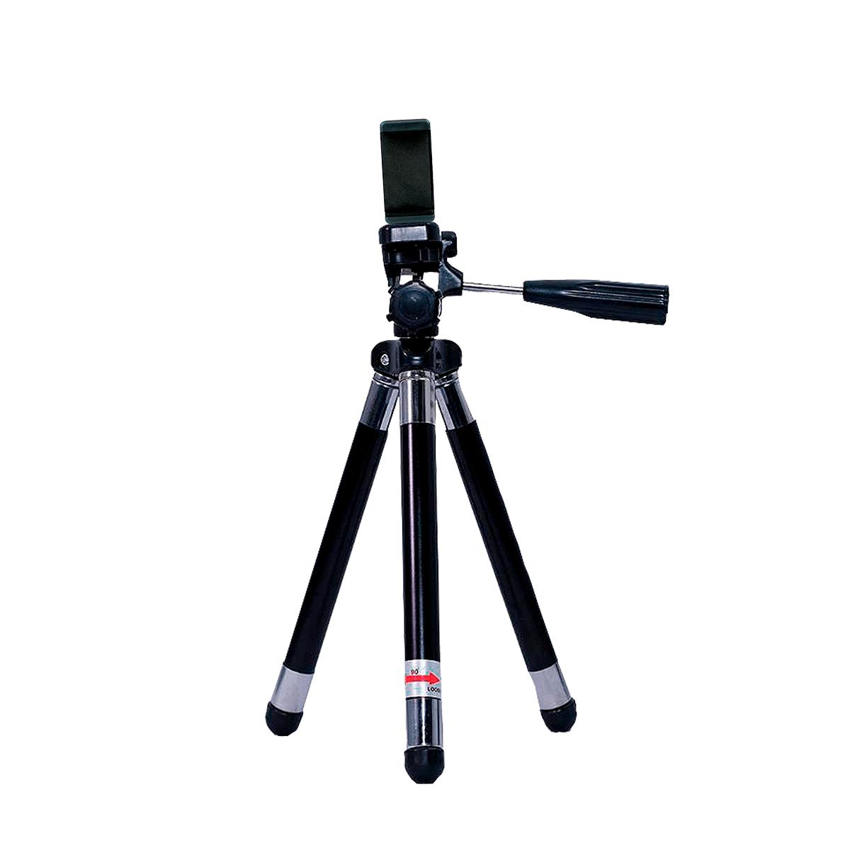 Mini Tripé 42cm para Celular Greika WT-2881 para Produções de Foto e Vídeo