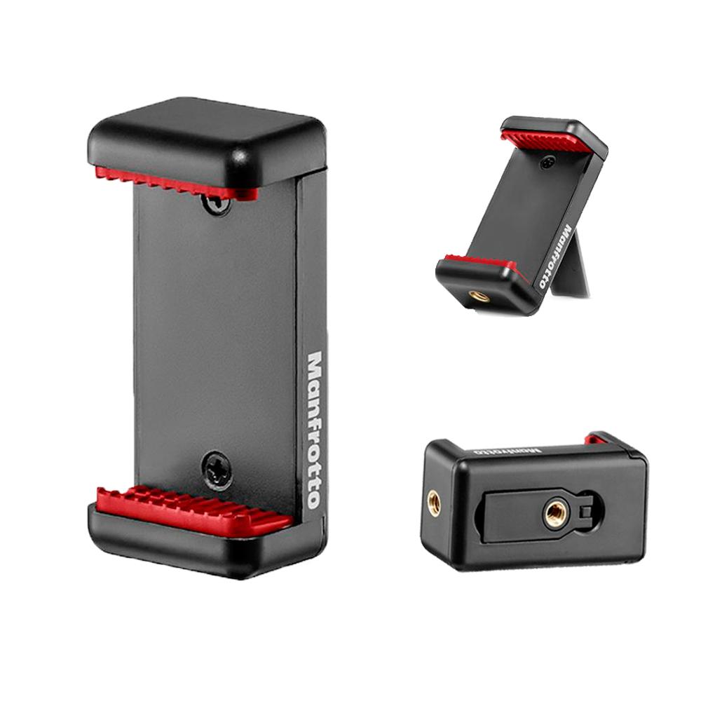 Mini Tripé Manfrotto Pixi Smart MKPIXICLAMP-BK para Câmeras e Celulares  - Fotolux