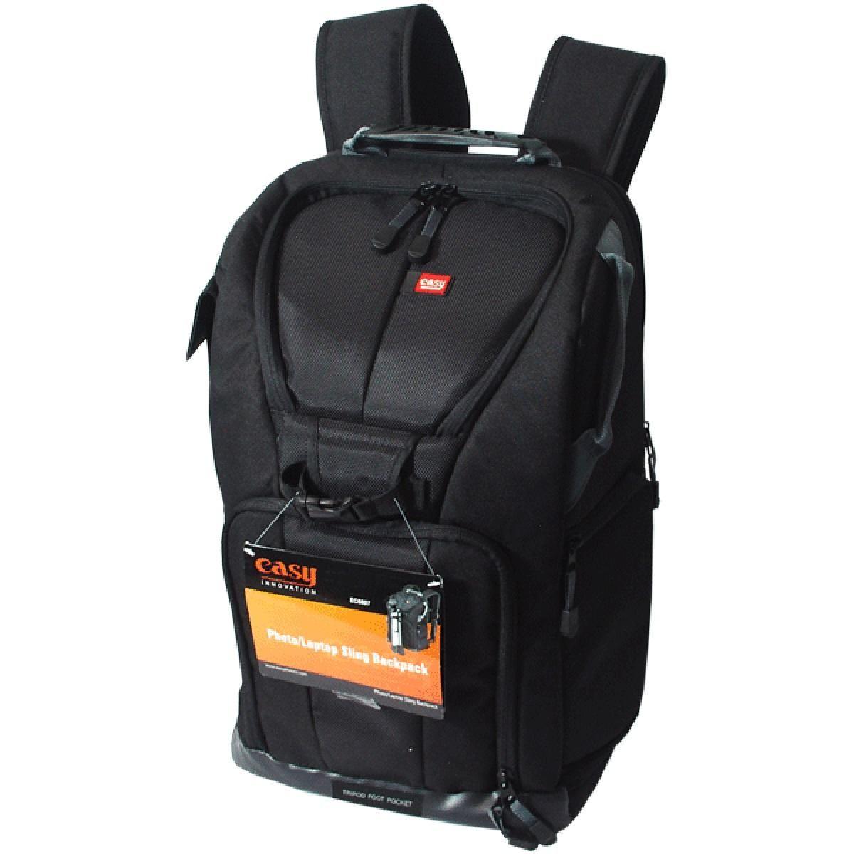 Mochila Fotográfica Easy EC-8807 para Câmera e Acessórios  - Fotolux