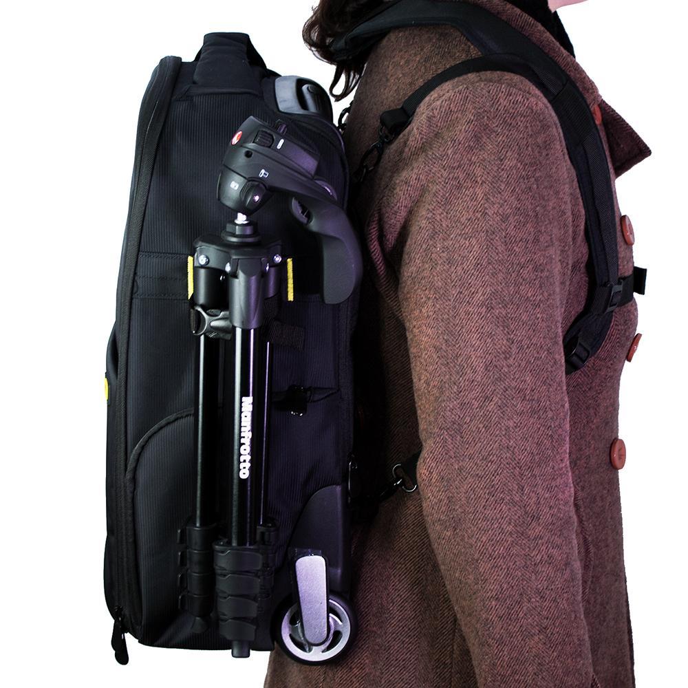 Mochila Fotográfica Easy Trolly EC-8903 para Câmeras e Acessórios