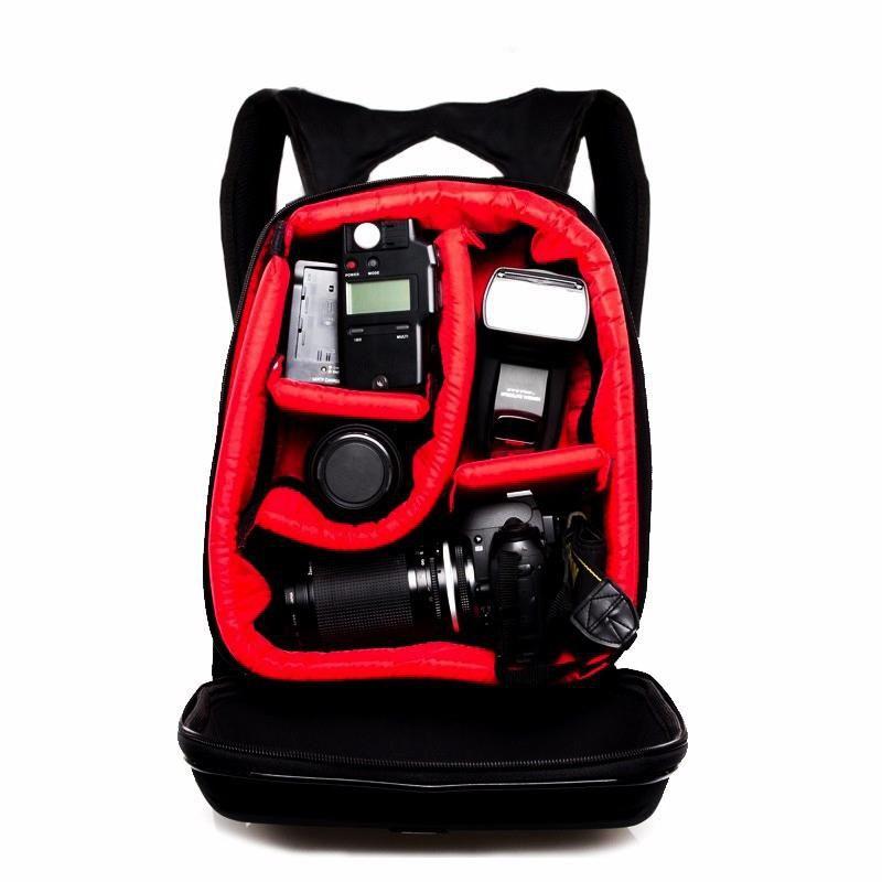 Mochila Fotográfica West Julia para Câmeras DSLR e Acessórios