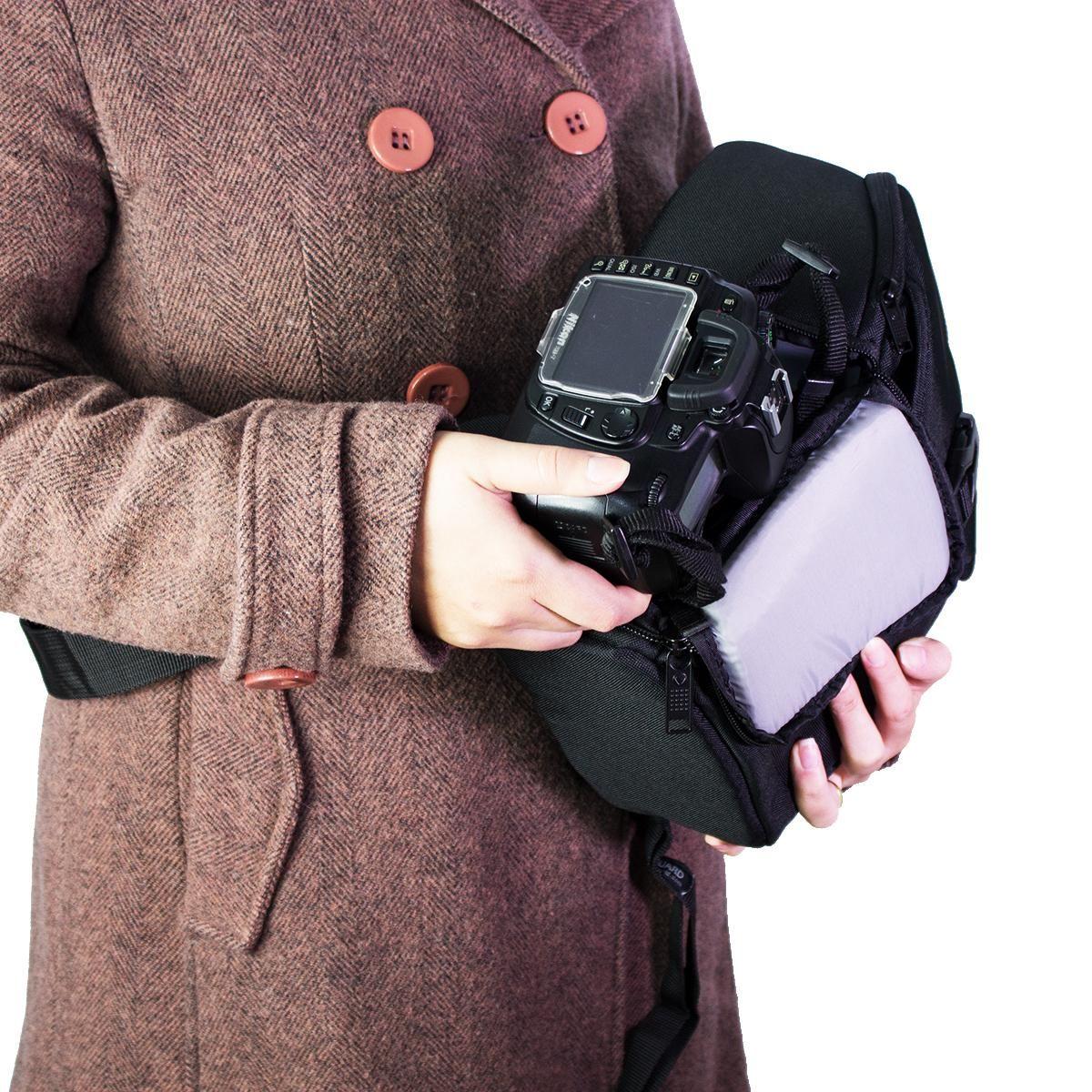 Mochila Vanguard Ziin 37bk para Equipamentos Fotográficos  - Fotolux