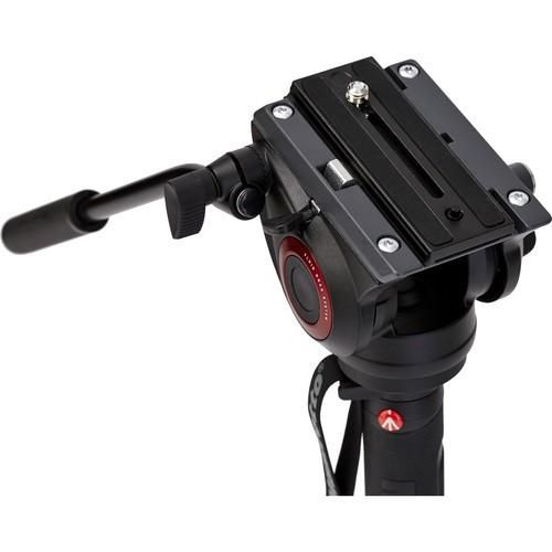Monopé Manfrotto de Alumínio 203cm MVMXPRO500 para Câmera Fotográfica