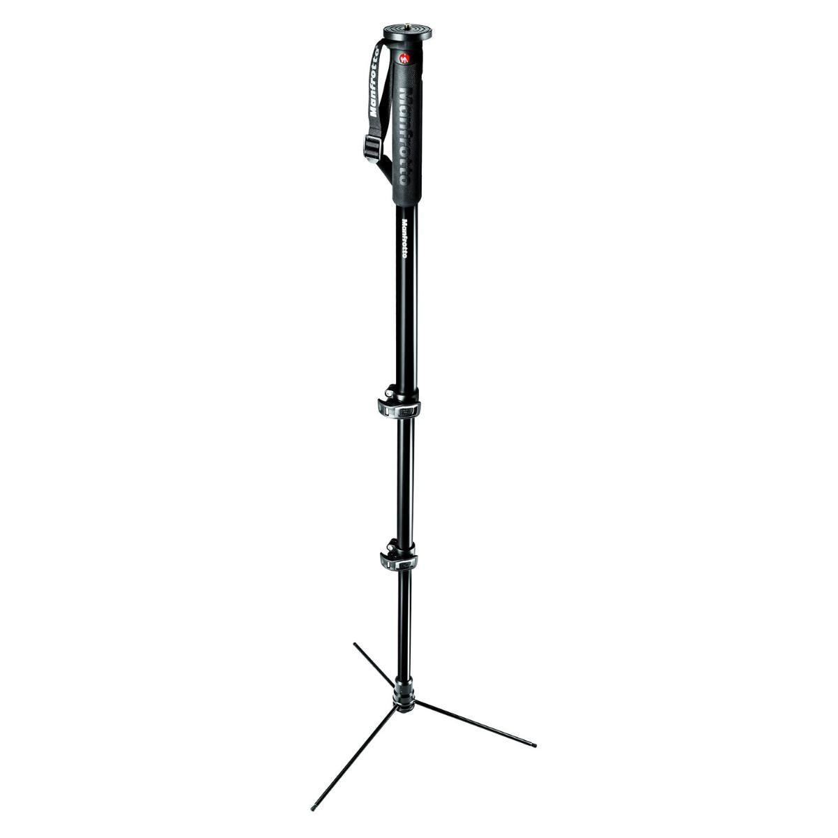 Monopé Manfrotto MMXPROA3B 168cm para Câmeras e Filmadoras