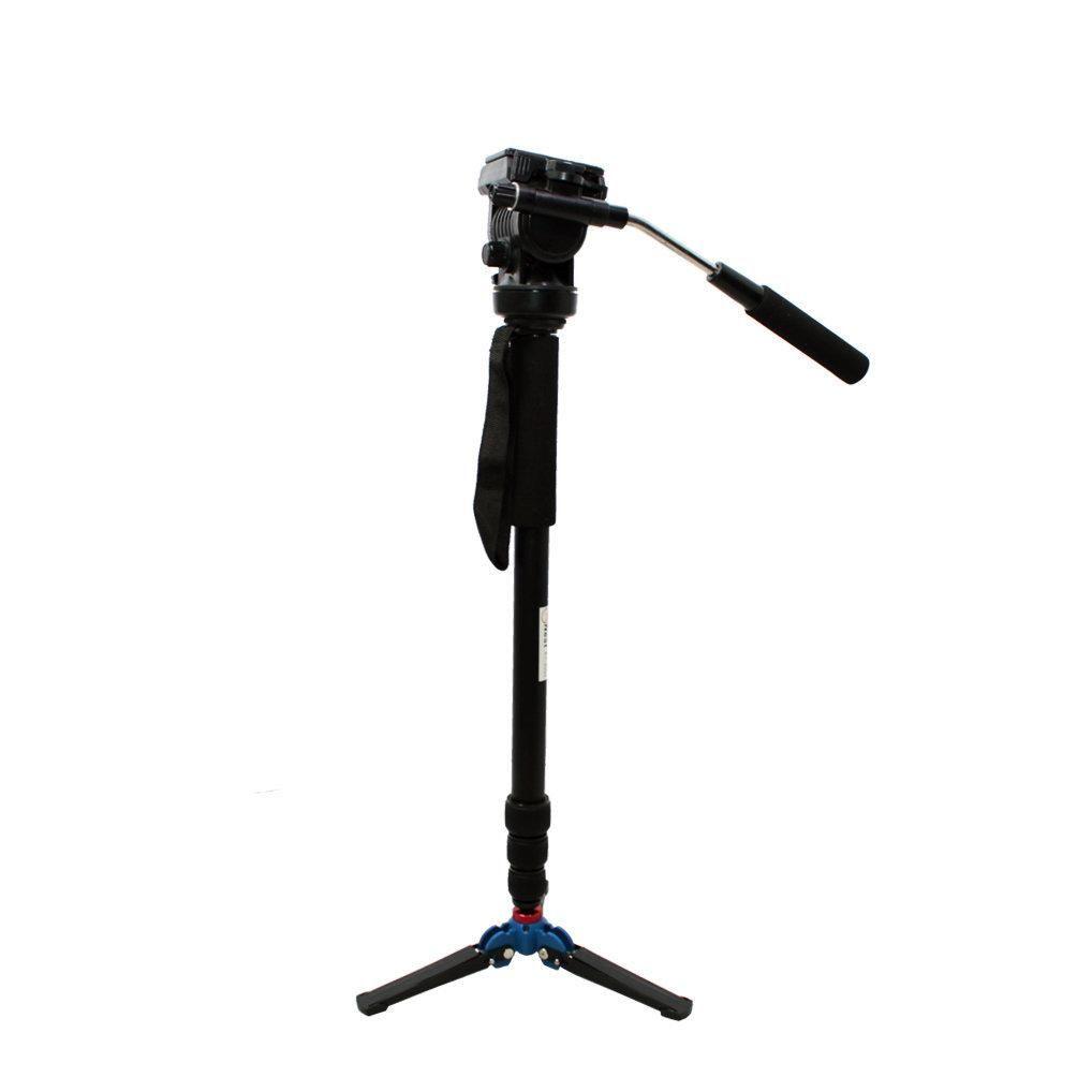 Monopé Nest KT-3050 172cm com Pé de Galinha para Câmeras e Filmadoras