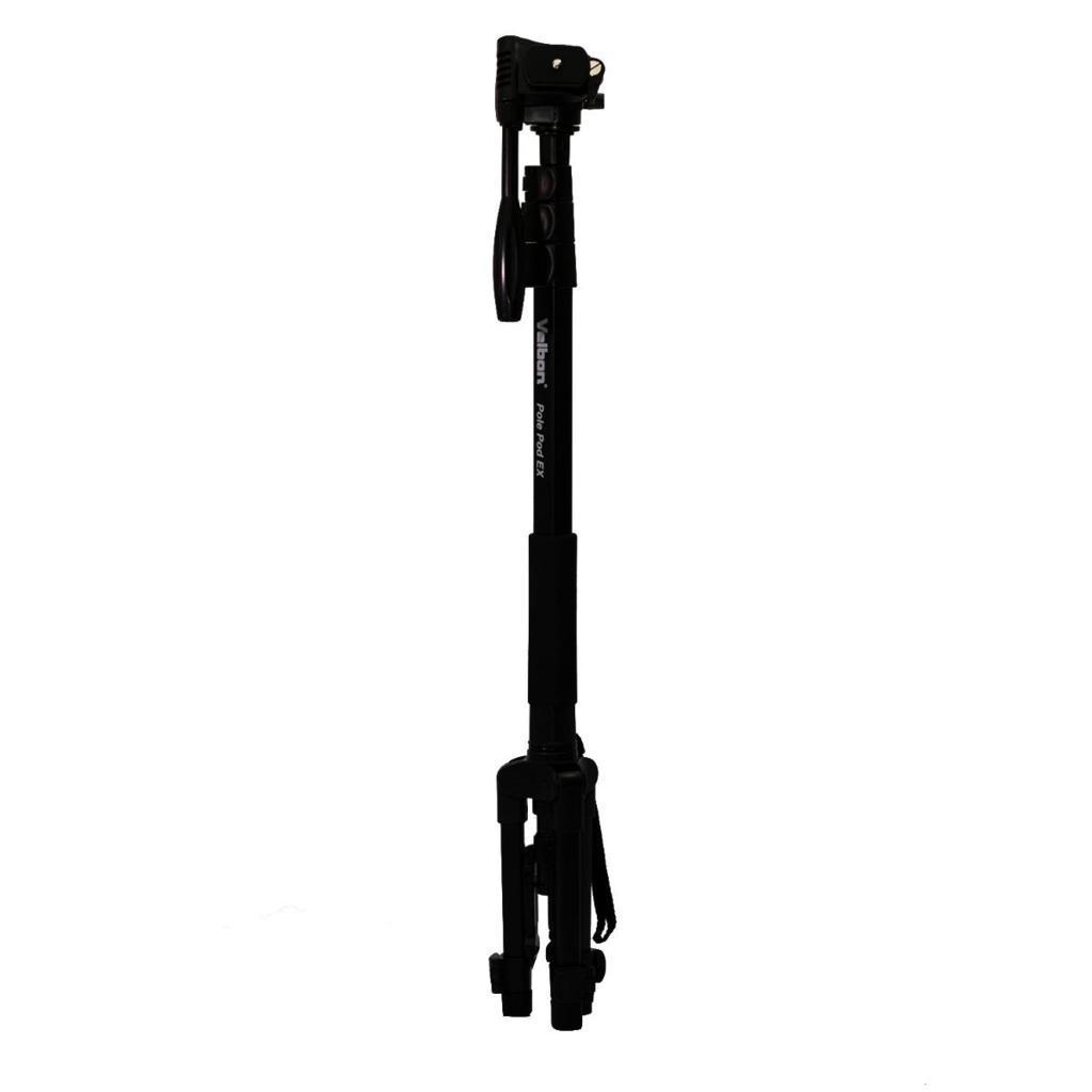 Monopé Velbon Pole Pod EX 179cm com Base de Tripé para Foto e Vídeo