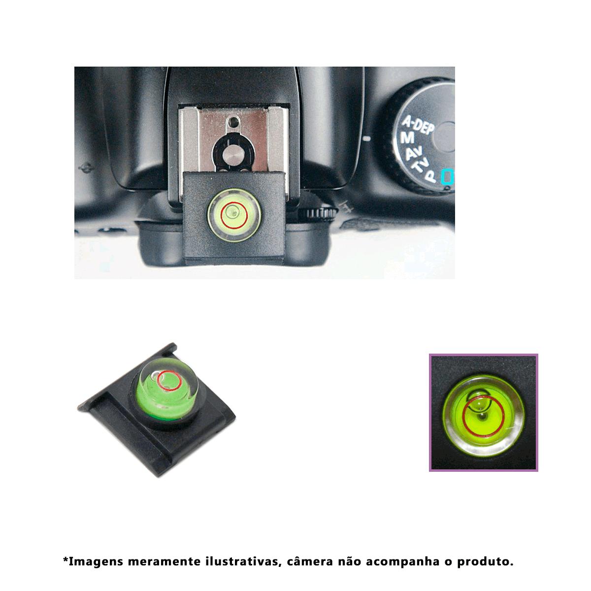 Nível Bolha Greika SL3 para Câmera Nikon  - Fotolux