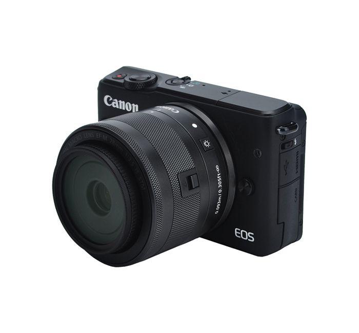 Parasol JJC LH-22 para Lente Macro Canon EF-M 28mm f/3.5 IS STM  - Fotolux