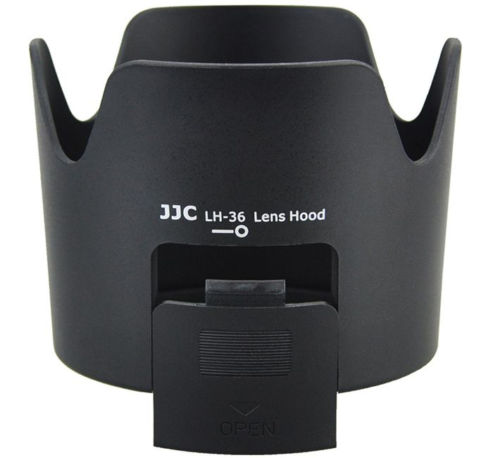 Parasol JJC LH-36 para Lente Nikon AF-S VR Zoom-Nikkor 70-300mm f/4.5-5.6G IF-ED  - Fotolux