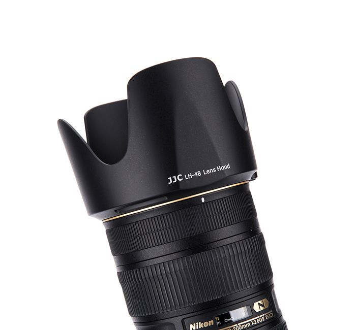 Parasol JJC LH-48 para Lentes Nikon AF-S NIKKOR 70-200mm f/2.8G ED VR II  - Fotolux