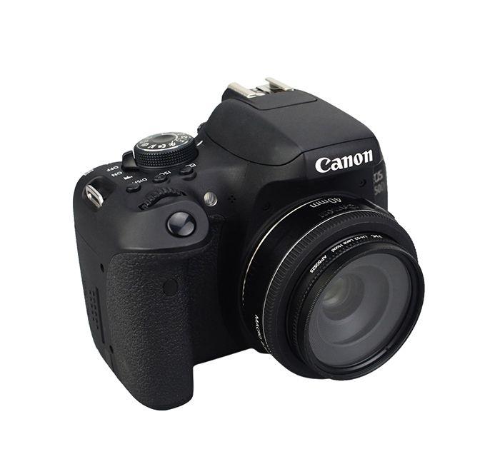 Parasol JJC LH-52 para Lente Canon EF 40mm f/2.8 STM  - Fotolux