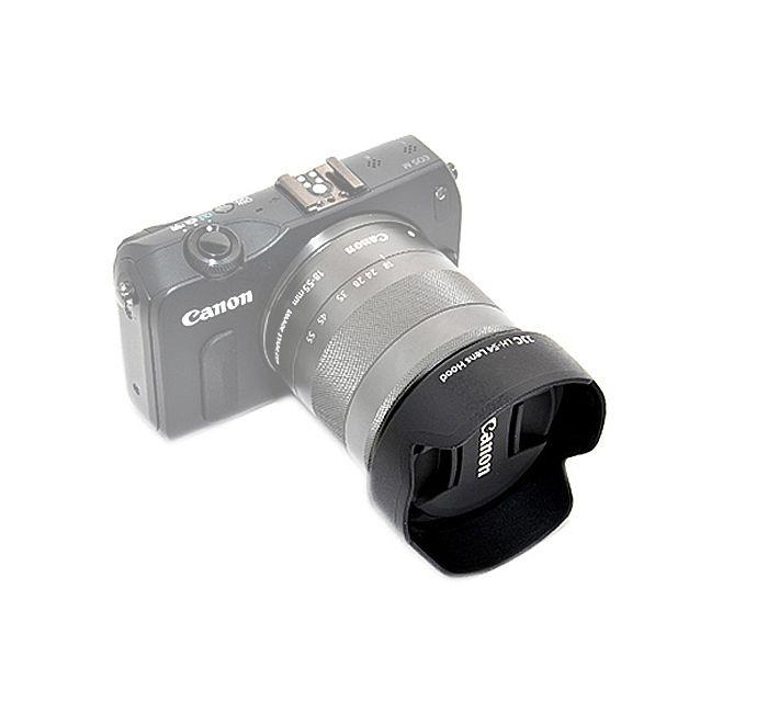Parasol JJC LH-54 para Canon 18-55mm Mirrorless  - Fotolux