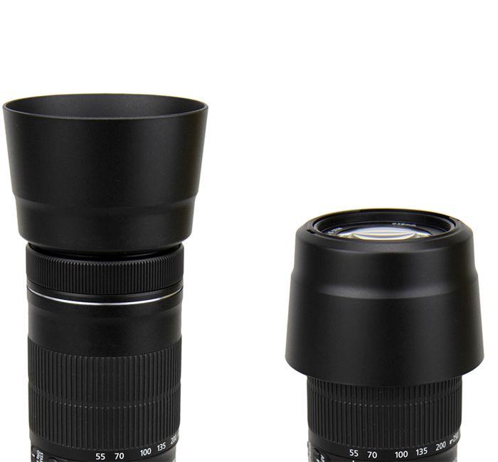 Parasol JJC LH-63 para Lente Objetiva Canon EF-S 55-250mm