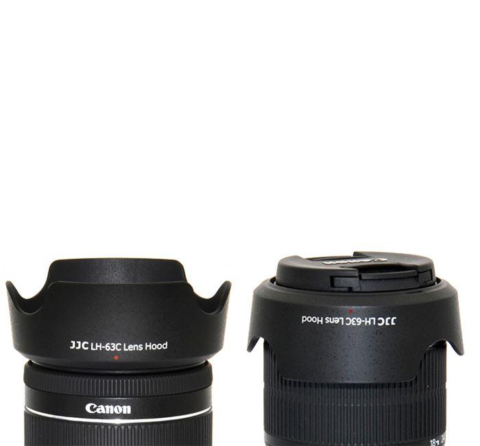 Parasol JJC LH-63C para Lente Objetiva Canon EF-S 18-55mm  - Fotolux
