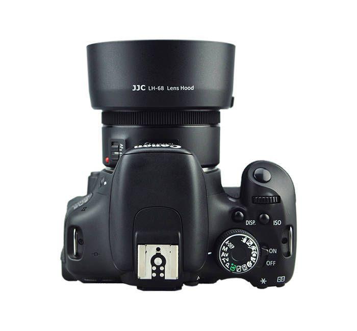 Parasol JJC LH-68 para Lente Objetiva Canon EF 50mm F1.8 STM