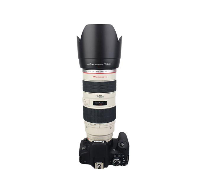 Parasol JJC LH-83II para Lente Canon EF 70-200 f/2.8L USM  - Fotolux