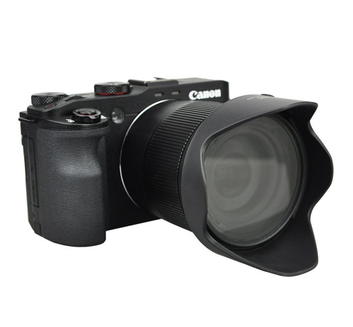 Parasol JJC LH-JDC100 para Lente Objetiva Canon PowerShot