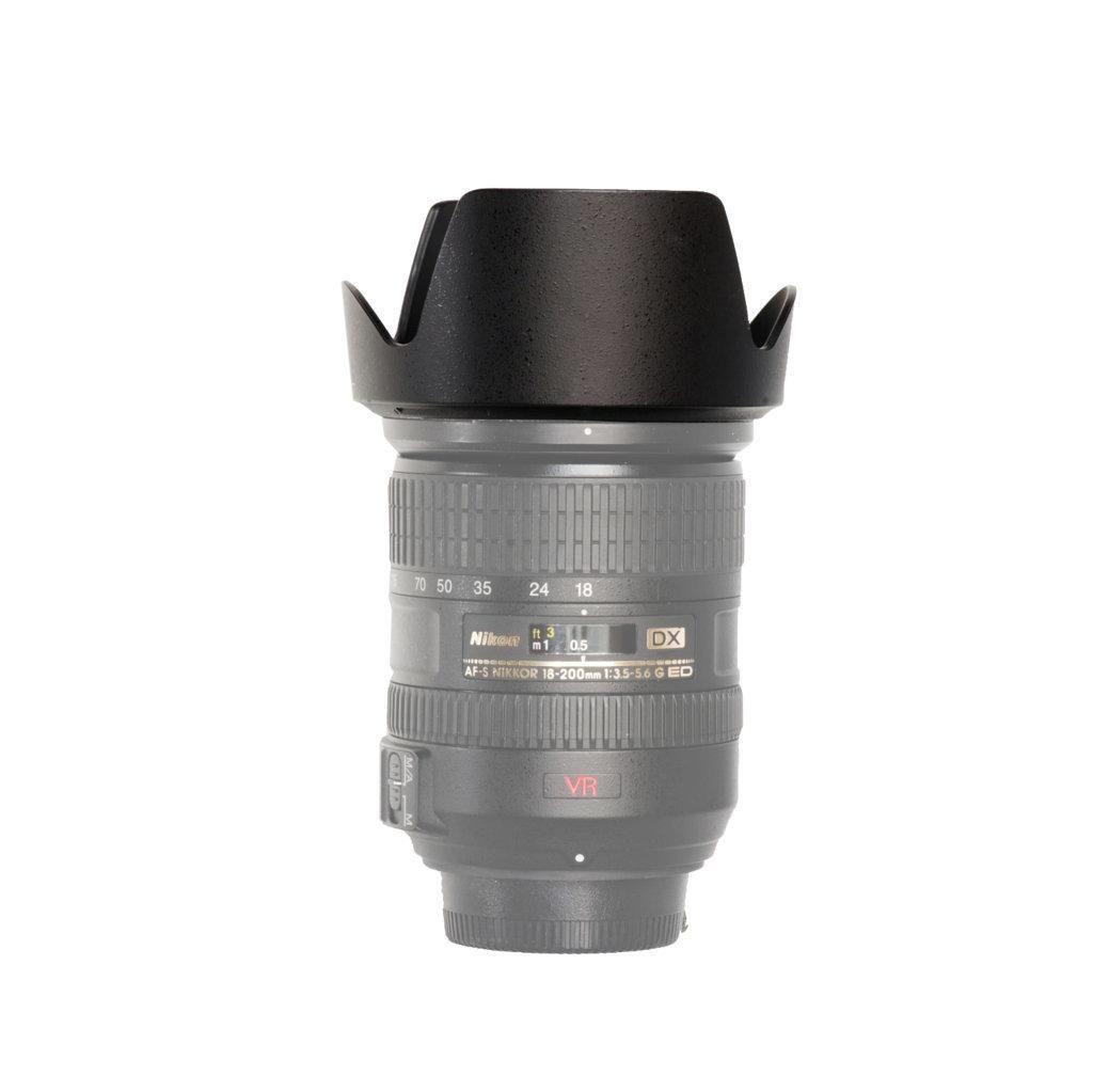 Parasol Tulipa HB-35 Alpes para Lente Nikon AF-S DX 18-200mm  - Fotolux
