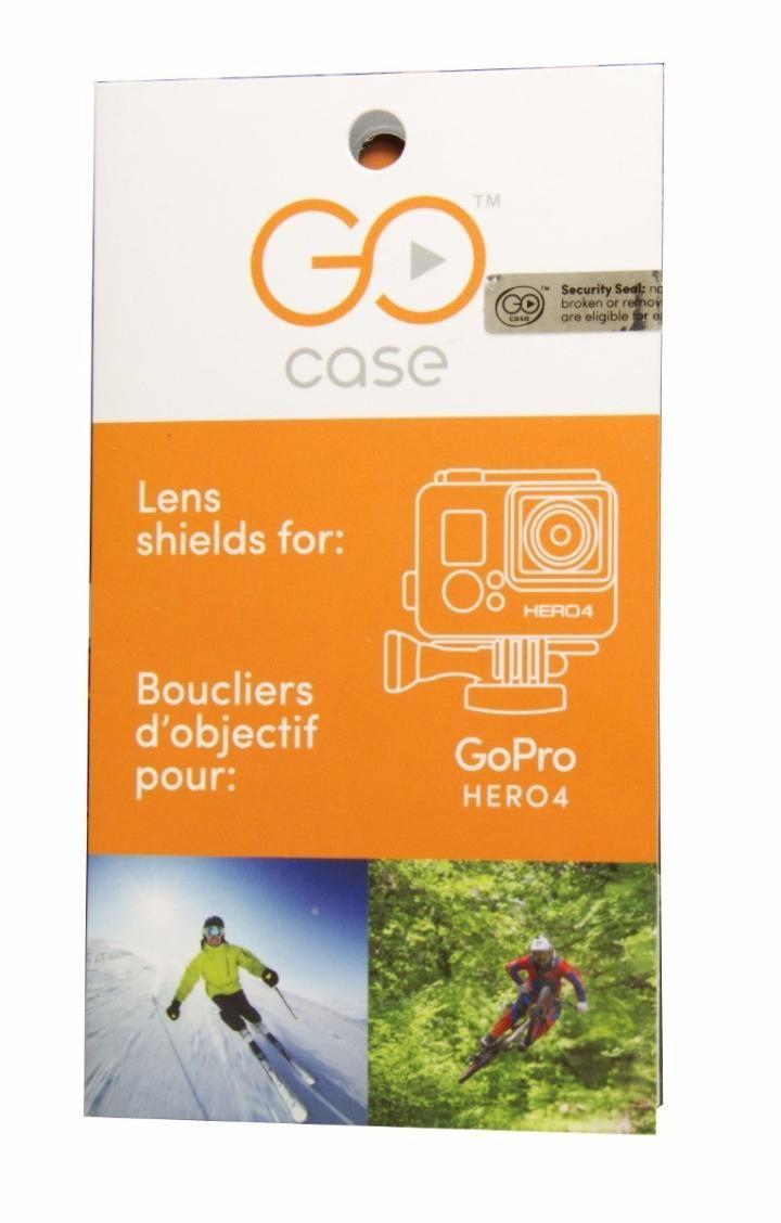 Películas Protetoras Go Case Hero4 e Hero3+ H4SHIELD