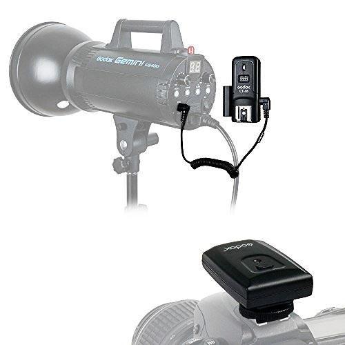 Rádio Flash Godox CT-16 de 16 Canais com Transmissor + Receptor para Flash Speedlite e de Estúdio