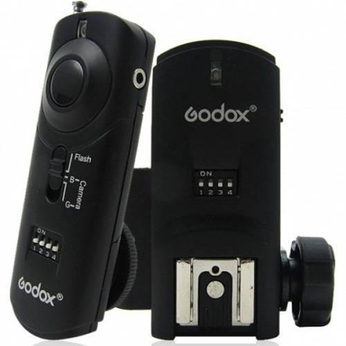 Rádio Flash Godox Reemix 3 em 1 RMII N1 para Flash de Estúdio, Speedlite e Câmera Nikon
