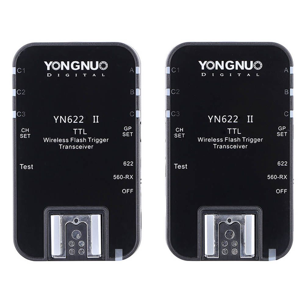 Rádio Flash Yongnuo YN-622 II com TTL para Câmera e Flash Speedlite  - Fotolux