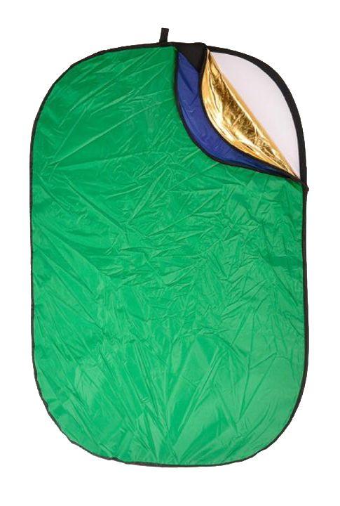 Rebatedor Fotográfico 7 em 1 Reflex Oval Greika 112cm x 180xm  - Fotolux