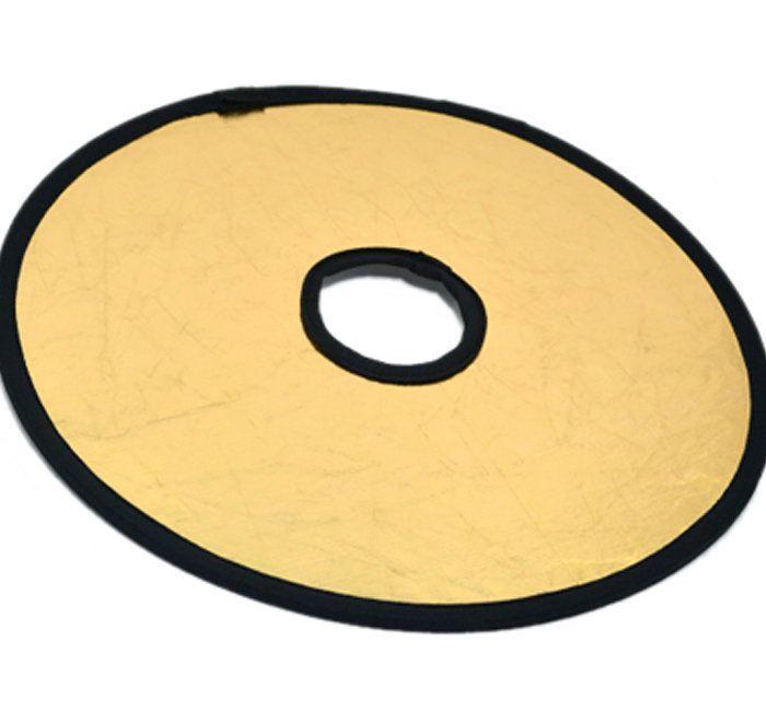 Rebatedor Refletor Circular para Lente de Câmera JJC RE-R30G  - Fotolux