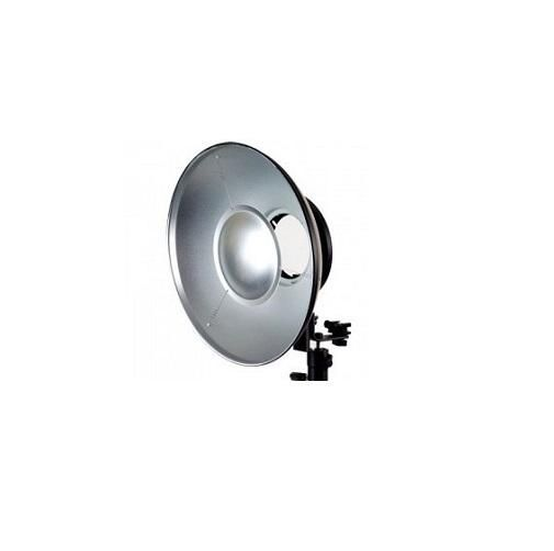 Rebatedor Silver Greika Beauty Dish para Flash F300