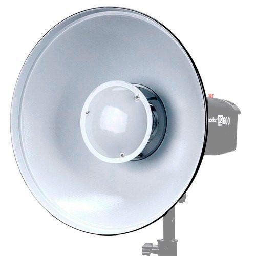 Rebatedor White Greika Beauty Dish para Flash F300